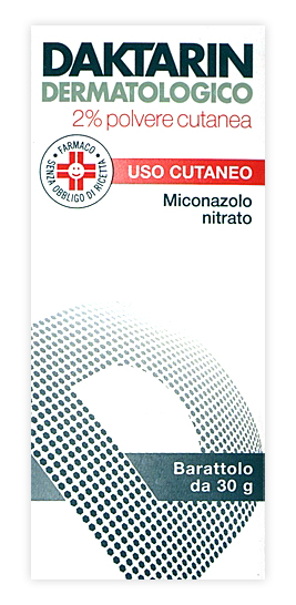 Daktarin 20 Mg/G Polvere Cutanea 1 Barattolo Da 30 G