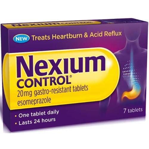 Nexium Control 20 Mg - Compressa Gastroresistente - Uso Orale - Blister (Alu) - 7 Compresse