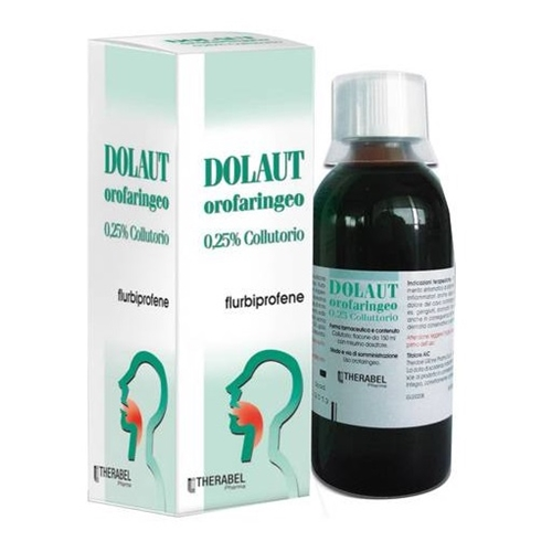 Dolaut Gola 0,25 % Collutorio Flacone 150 Ml