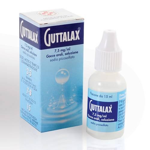 Guttalax 7,5 Mg/Ml Gocce, Soluzione Orale Flacone Da 15 Ml