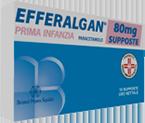 Efferalgan Lattanti 80 Mg Supposte 10 Supposte