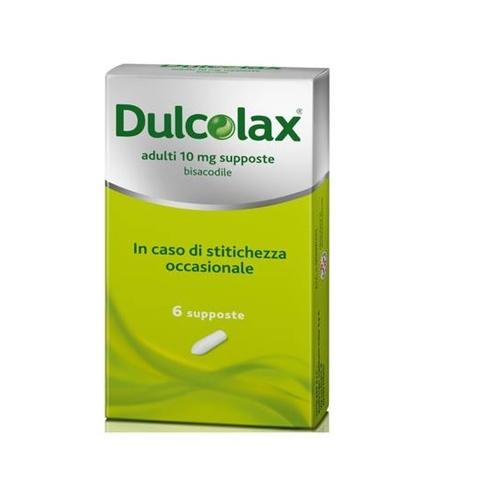 Dulcolax Adulti 10 Mg Supposte 6 Supposte In Strip Al/Pe
