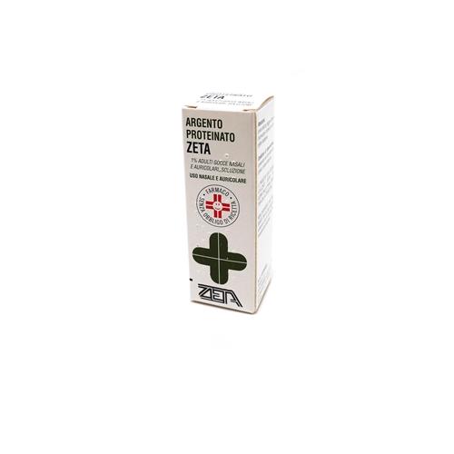 Argento Proteinato 1% Gocce Nasali E Auricolari, Soluzione Flacone 10 Ml