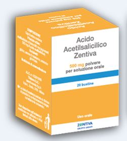 Acido Acetils Zen 500 Mg Polvere Per Soluzione Orale 20 Bustine