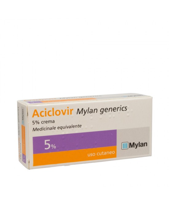 Aciclovir My 5% Crema Tubo 3 G