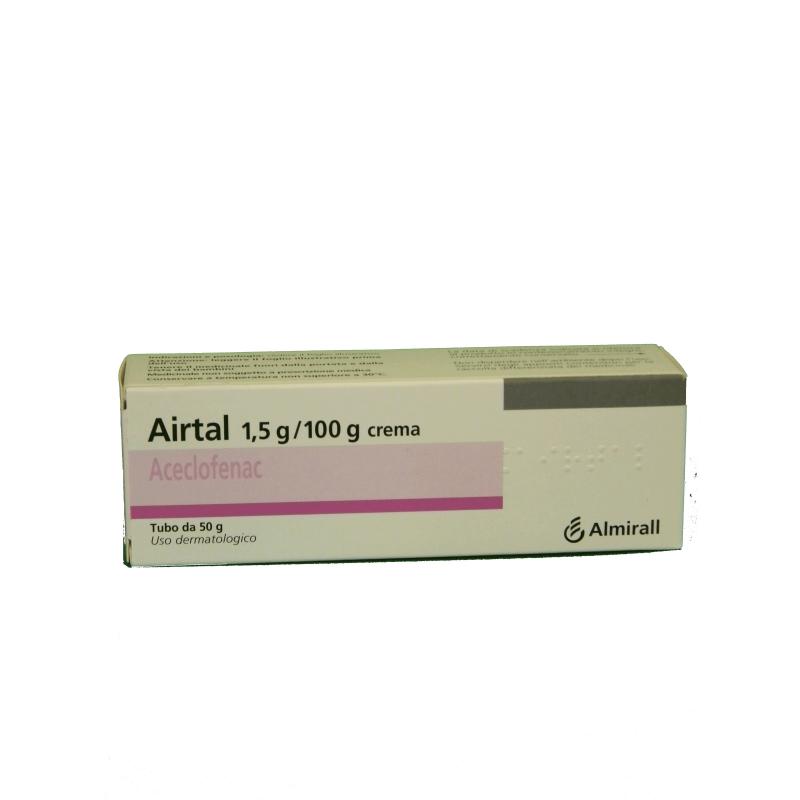 Airtal 1,5% Crema Tubo  50 G