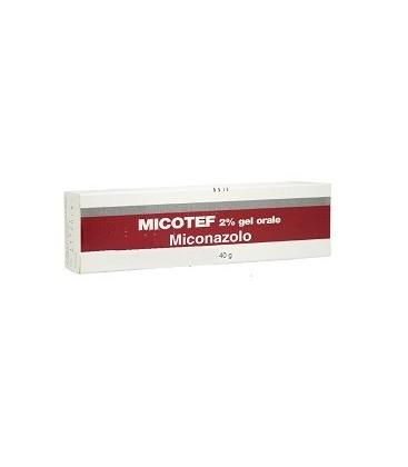 Micotef 2% Gel Orale 1 Tubo Da 40 G