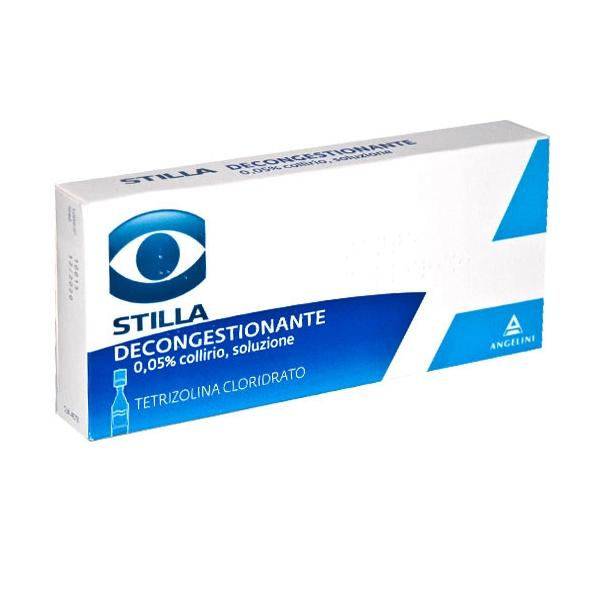 Stilla Decong 0,05% Collirio, Soluzione 10 Contenitori Monodose Da 0,3 Ml