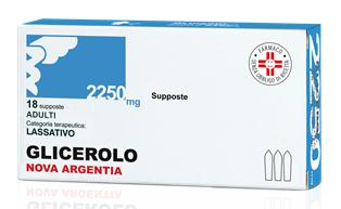 Glicerolo Adulti 2,250 G Supposte 18 Supposte