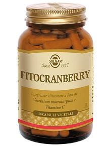 Solgar Fitocranberry Integratore Alimentare 60 Capsule Vegetali