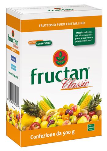 Fructan Classic Dolcificante Naturale In Polvere Senza Conservanti 500 g