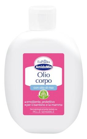 Euphidra Amidomio Olio Corpo Emolliente Rapido Assorbimento 200 ml
