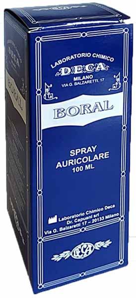 Deca Laboratorio Chimico Boral Spray Auricolare 100 Ml