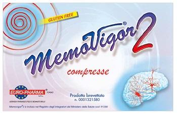 Euro pharma Memovigor 2 20 Compresse