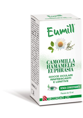 Recordati Eumill Gocce Oculari Flacone 10 Ml