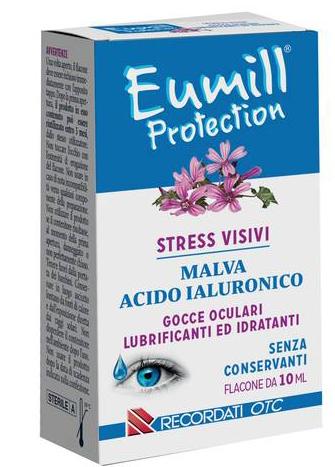Recordati Eumill Gocce Oculari Protection Flacone 10 Ml