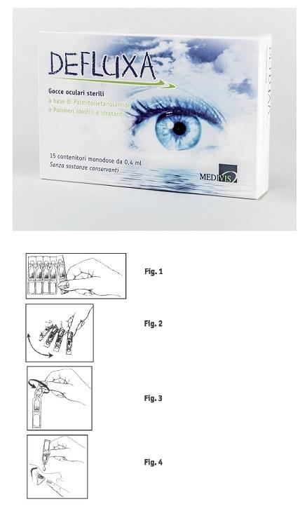 Medivis Defluxa Gocce Oculari 15 Contenitori Monodose Da 0,4 Ml