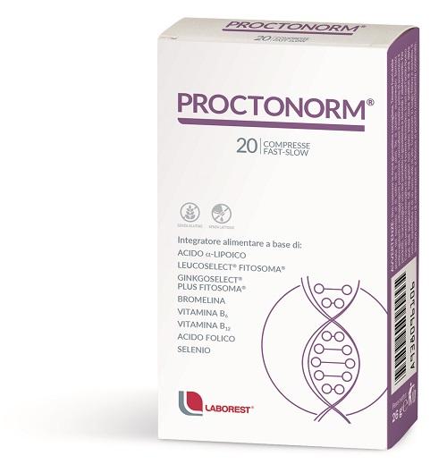 Laborest Proctonorm Integratore Antiossidante per il Microcircolo 20 Compresse