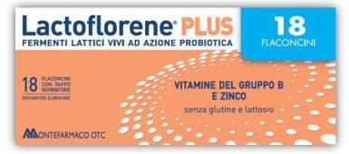 Montefarmaco Otc Lactoflorene Plus 18 Flaconi 180 Ml
