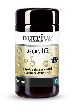 Nutriva Vegan K2 Integratore Alimentare 30 compresse