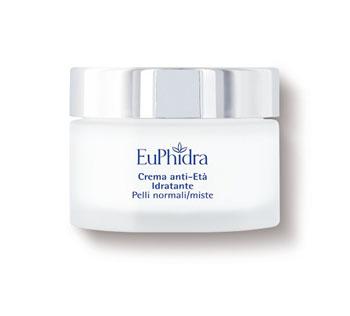 Euphidra Skin Crema Viso Antietà Idratante 40 ml