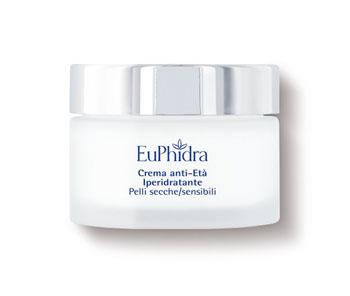 Euphidra Skin Crema Viso Iperidratante Pelli Secche e Sensibili 40 ml