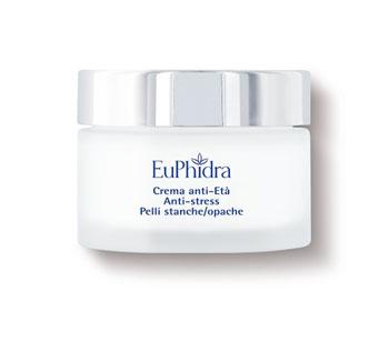 Euphidra Skin Crema Antietà Anti-Stress Pelli Stanche e Opache 40 ml
