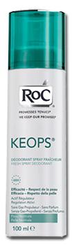 Johnson e Johnson Roc Keops Bundle Deodorante Spray Fresco 100 Ml