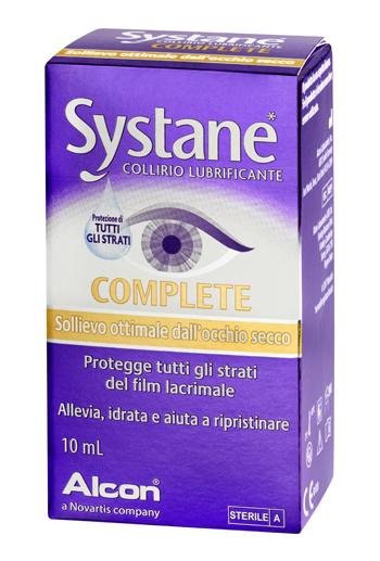Systane Complete Collirio Lubrificante per Occhi Secchi 10 ml