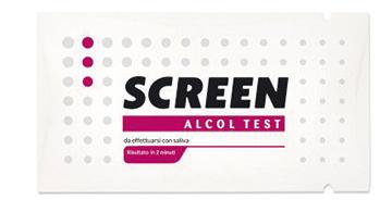 Alcol Test Monouso Rileva Alcol Nell organismo Tramite Saliva Screen Alcol Test