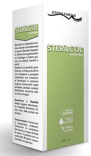 Sterilfarma Sterilcol Gocce Orali Sospensione Gastrofunzionale Flaconcino 20 Ml