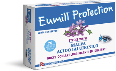 Recordati Eumill Protection Gocce Oculari 20 Flaconcini Monodose 0,5 Ml