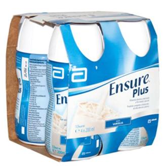 Ensure Plus Vaniglia 4 Bottiglie Da 200 Ml