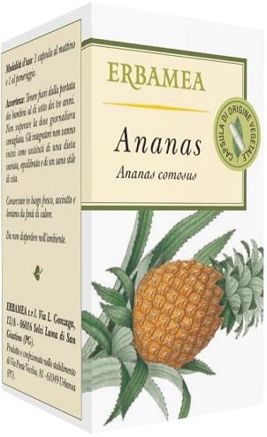 Erbamea Ananas Integratore Alimentare Utile per la Circolazione 50 Opercoli