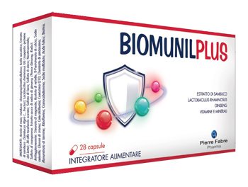 Pierre Fabre Pharma Biomunilplus Integratore alimentare 28 Capsule