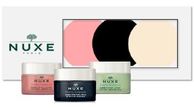 Lab. Nuxe Italia  Socio Un. Nuxe Kit Insta-masque 2019 3 Pezzi