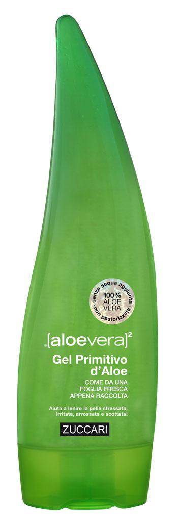 Zuccari Gel Primitivo d Aloe Foglia 100 Ml