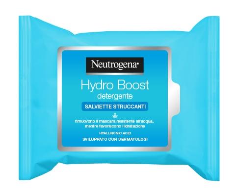 Neutrogena Hydro Boost Salviette Struccanti 25 Pezzi