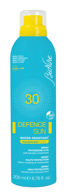 Bionike Defence Sun 30 Spray Transparent Touch 200 Ml