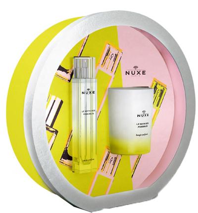 Nuxe Cofanetto Le Matin Des Possibles Eau De Parfum 50ml + Candela