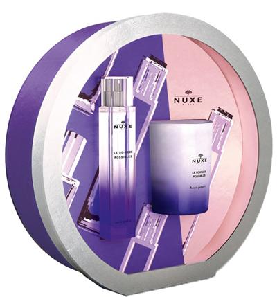 Nuxe Cofanetto Le Soir Des Possible Eau De Parfum 50 ml + Candela