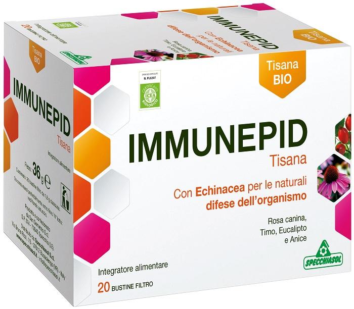 Specchiasol Immunepid Tisana per le Difese dell'Organismo 20 Bustine