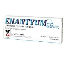 Enantyum 25 Mg Compresse Rivestite 20 Compresse