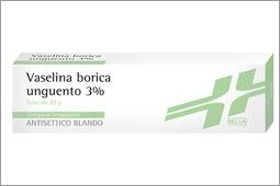 Acido Borico Sella 3% Unguento Tubo Da 30 G