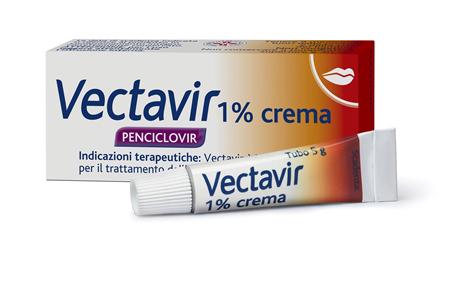 Vectavir 1% Crema 1 Tubo Da 5 G
