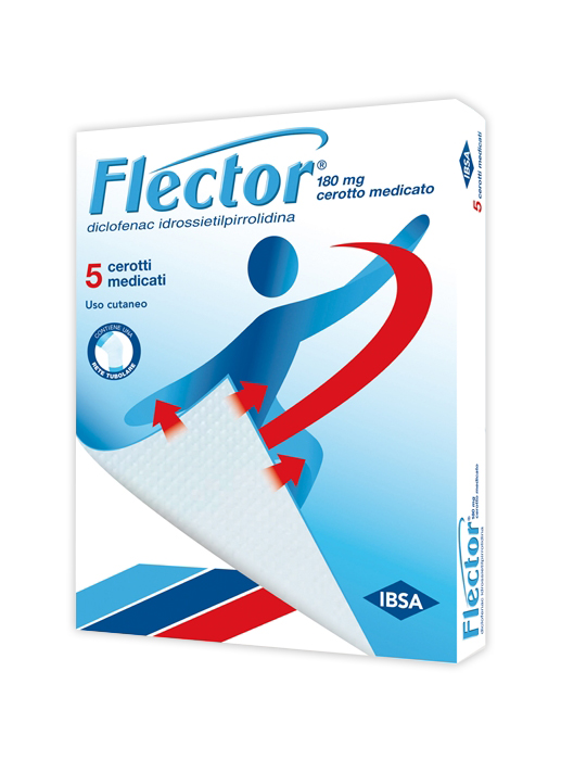 Flector 180 Mg Cerotto Medicato 5 Cerotti Medicati