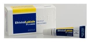 Efrivirallabiale 5% Crema Tubo Da 2 G