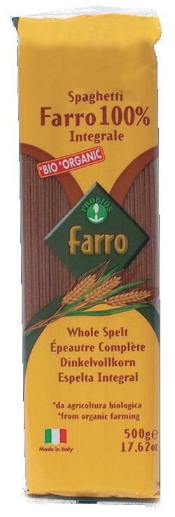Probios Pasta 100% Farro Integrale Spaghetti 500 G