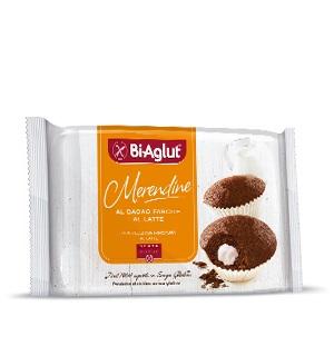 Biaglut Merendine Di Cacao Farcite Al Latte 200 G