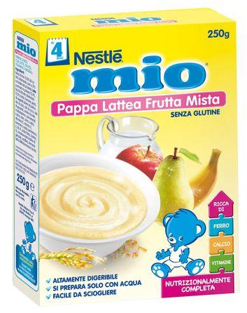 Nestle Fitness Nestle Mio Pappa Lattea Frutta Mista